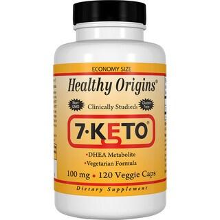 Healthy Origins 7-Keto 100 mg (120 Veggie Softgels)