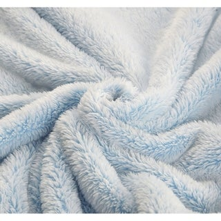 De Moocci Frosted Tip Fluffy Oversized Throw