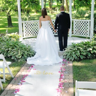 Love Wedding Aisle Runner
