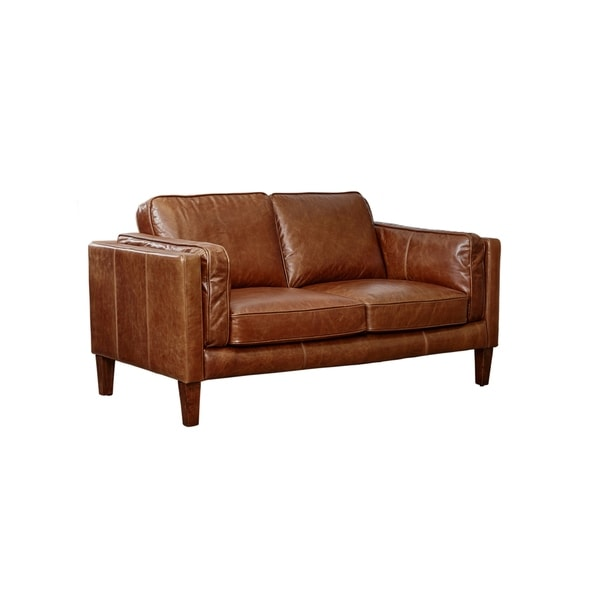 Superbe Lazzaro Leather Berkley Loveseat