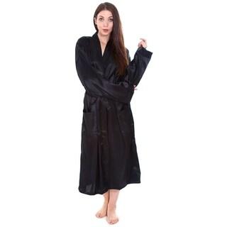 Simplicity Women's Satin Sleepwear Kimono Robe