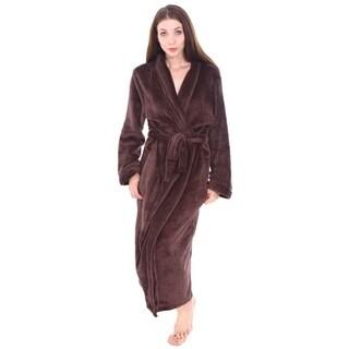 Unisex Plush Kimono Robe Hotel Spa Bathrobe with Tie Closure