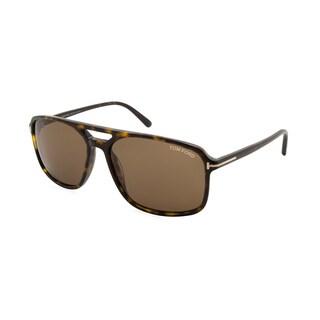 Tom Ford/Terry/TF0332-56P/Men's/Tortoise Frame/Brown Lens/Sunglasses