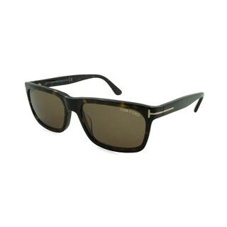 Tom Ford/TF9337-56J/Men's/Havana Frame/Brown Lens/Sunglasses