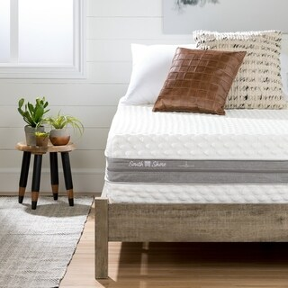 South Shore Somea Off-White and Gray Sensation Double-Sided Queen (60'') mattress 12''