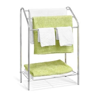 Furinno Wayar 3-Tier Towel Stand, Chrome, WS17015|https://ak1.ostkcdn.com/images/products/18128622/P24281244.jpg?impolicy=medium