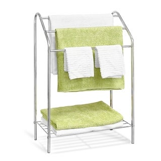 Furinno Wayar 3-Tier Towel Stand, Chrome, WS17015