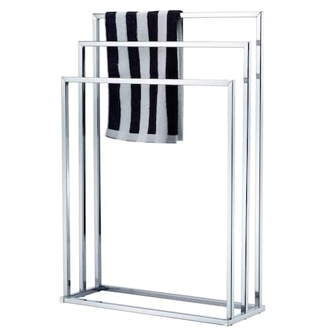 Porch & Den Comley Chrome 3-tier Towel Rail