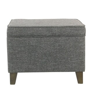 Carson Carrington Anjala Slate Grey Medium Storage Ottoman