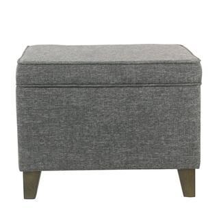 Phenomenal Buy Grey Wood Ottomans Storage Ottomans Online At Dailytribune Chair Design For Home Dailytribuneorg