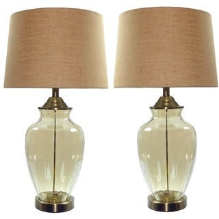 Labella Amber Table Lamp Set of 2 - 29-inch Height