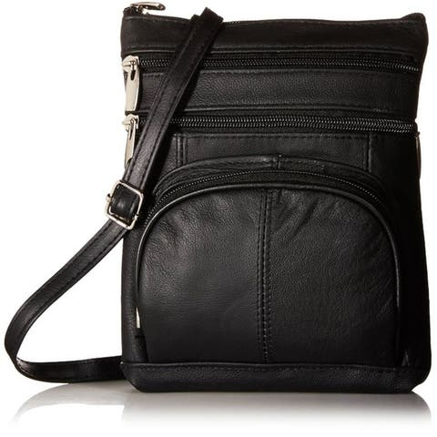 AFONiE Super Soft Leather Crossbody Bag - 8 Colors