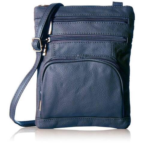 AFONiE Super Soft Genuine Leather Crossbody Bag
