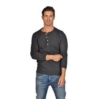 Abbot and Main beefy henley Long Sleeve T-Shirt