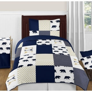 Link to 4pc Twin Bedding Set for the Big Bear Collection by Sweet Jojo Designs Similar Items in Kids Comforter Sets
