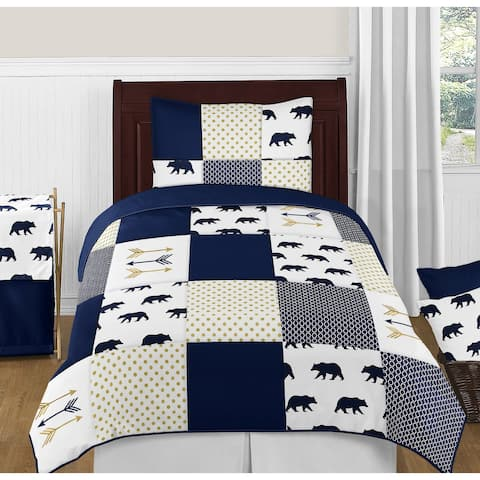 4pc Twin Bedding Set for the Big Bear Collection by Sweet Jojo Designs