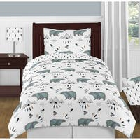 4pc Twin Bedding Set for the Bear Mountain Collection by Sweet Jojo Designs