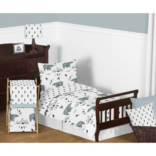 5pc Toddler Bedding Set for the Bear Mountain Collection by Sweet Jojo Designs