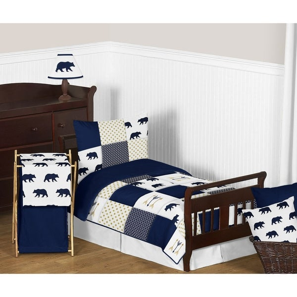 5pc Toddler Bedding Set for the Big Bear Collection by Sweet Jojo Designs