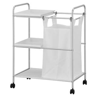Porch & Den Comley Laundry Sorter with Trays