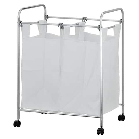 Porch & Den Comley Laundry Sorter with Removable Bags