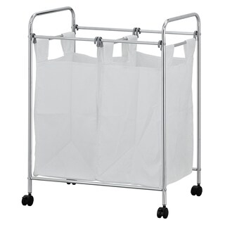 Furinno Wayar Laundry Sorter with Removable Bags, WS17126