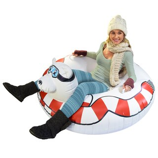GoFloats Winter Snow Tube - Polar Bear - The Ultimate Sled & Toboggan