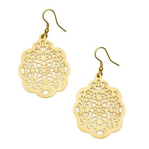 Handmade Viti Gold Earrings (India)
