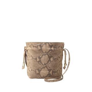 Liebeskind Berlin Norwalk Embossed Snake Camel Leather Drawstring Crossbody Handbag|https://ak1.ostkcdn.com/images/products/18129150/P24281698.jpg?impolicy=medium