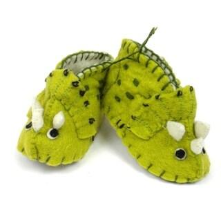 Handmade Baby Triceratops Zooties (Kyrgyzstan)