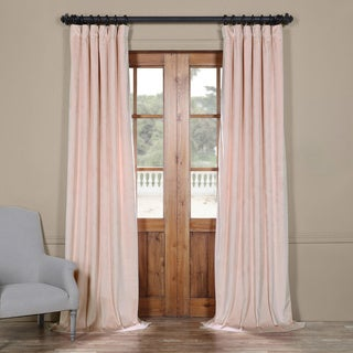 Exclusive Fabrics Heritage Plush Velvet Curtain (As Is Item)