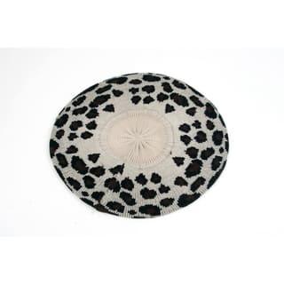 Pop Fashionwear Leopard Print Light Knitted Beret|https://ak1.ostkcdn.com/images/products/18129437/P24281921.jpg?impolicy=medium