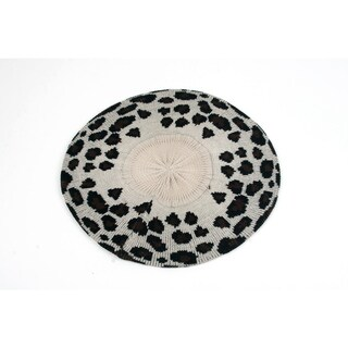 Pop Fashionwear Leopard Print Light Knitted Beret