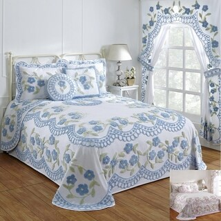 Bloomfield Cotton Chenille Bedspread (More options available)