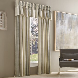 Five Queens Court Vaughn Stripe Insulated Lined Window Panel (More options available)