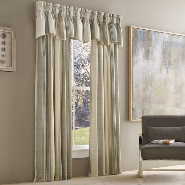 Five Queens Court Vaughn Stripe Insulated Lined Window Panel