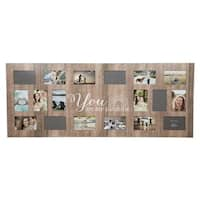 "18 Opening ""Sunshine"" Collage Wall Frame"