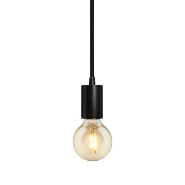 Bruck Lighting Gents Black Pendant