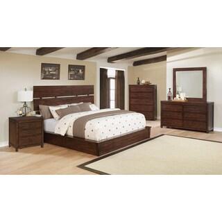 Avila 6PC Bedroom Set With 3-Drawer Nightstand