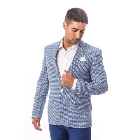 Elie Balleh Men's Milano Italy 2016 Style Slim Fit Jacket/Blazer
