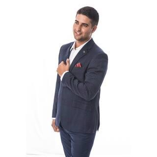 Elie Balleh Milano Italy Men's Style Slim Fit Jacket/Blazer (Option: Xxl) https://ak1.ostkcdn.com/images/products/18130043/P24282399.jpg?impolicy=medium