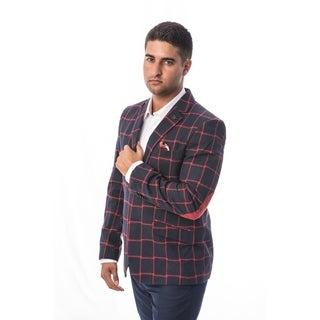Elie Balleh Milano Italy Men's Style Slim Fit Jacket/Blazer (Option: S)|https://ak1.ostkcdn.com/images/products/18130059/P24282416.jpg?_ostk_perf_=percv&impolicy=medium