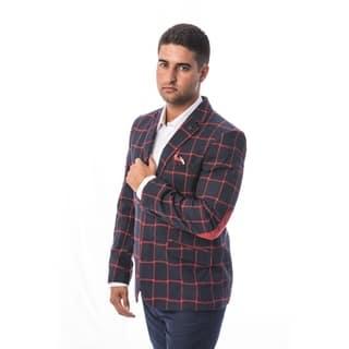 Elie Balleh Milano Italy Men's Style Slim Fit Jacket/Blazer|https://ak1.ostkcdn.com/images/products/18130059/P24282416.jpg?impolicy=medium