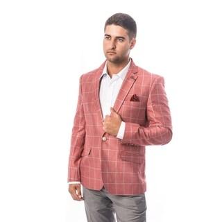 Elie Balleh Milano Italy Men's Style Slim Fit Jacket/Blazer (Option: M)