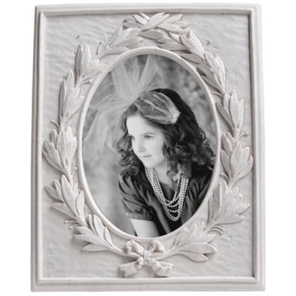 Enchanting photo frame in white - Large