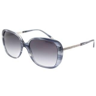 Tiffany & Co. Square TF 4137B 82293C Womens Marble Grey Frame Grey Gradient Lens Sunglasses