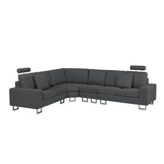 Fabric Sectional Sofa - Gray STOCKHOLM