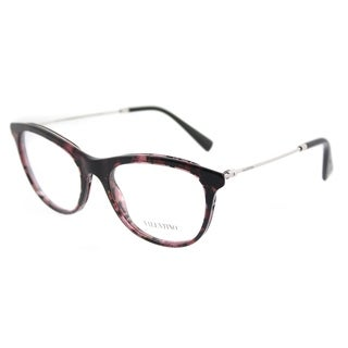 Valentino Oval VA 1006 3006 Womens Havana Pink Silver Frame Eyeglasses