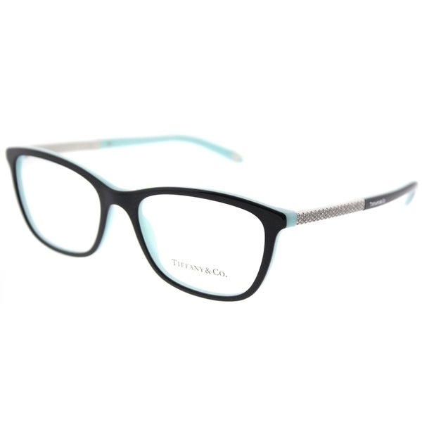 a56363daf9f3 Shop Tiffany & Co. Cat Eye TF 2150B 8055 Womens Black on Blue Frame  Eyeglasses - Free Shipping Today - Overstock - 18131460