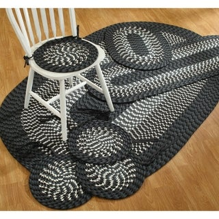 Alpine 7-piece Braided Rug Set - 4' x 6'